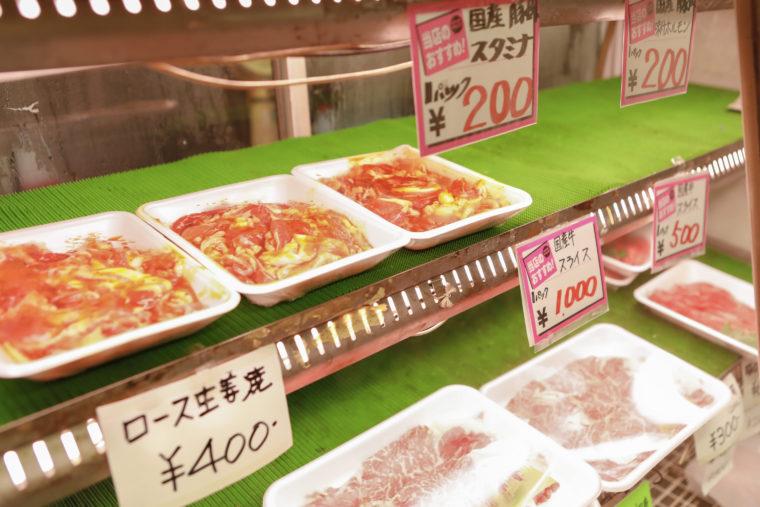 取り扱うほとんどのお肉が群馬県産