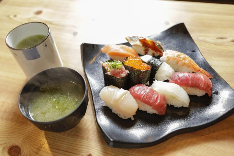 上寿司がおすすめ