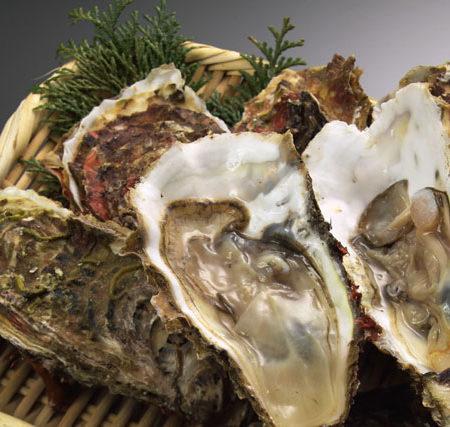 牡蠣を食べて体力アップ!