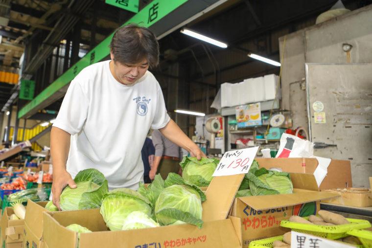 季節季節の旬の野菜を食べてもらいたい